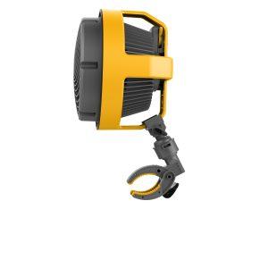Deckenventilator gelb grau 360 Grad