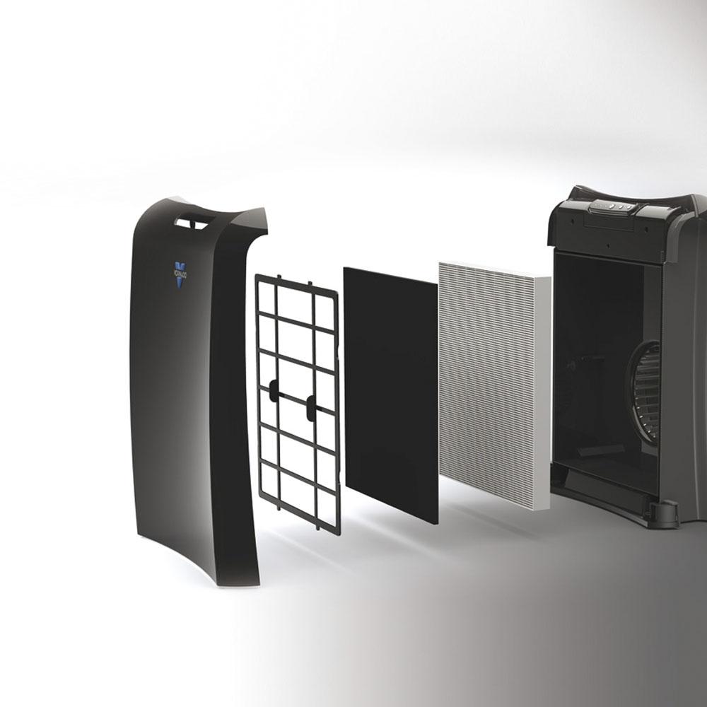 Vornado Luftreiniger schwarz kaufen günstig modern Bauteile