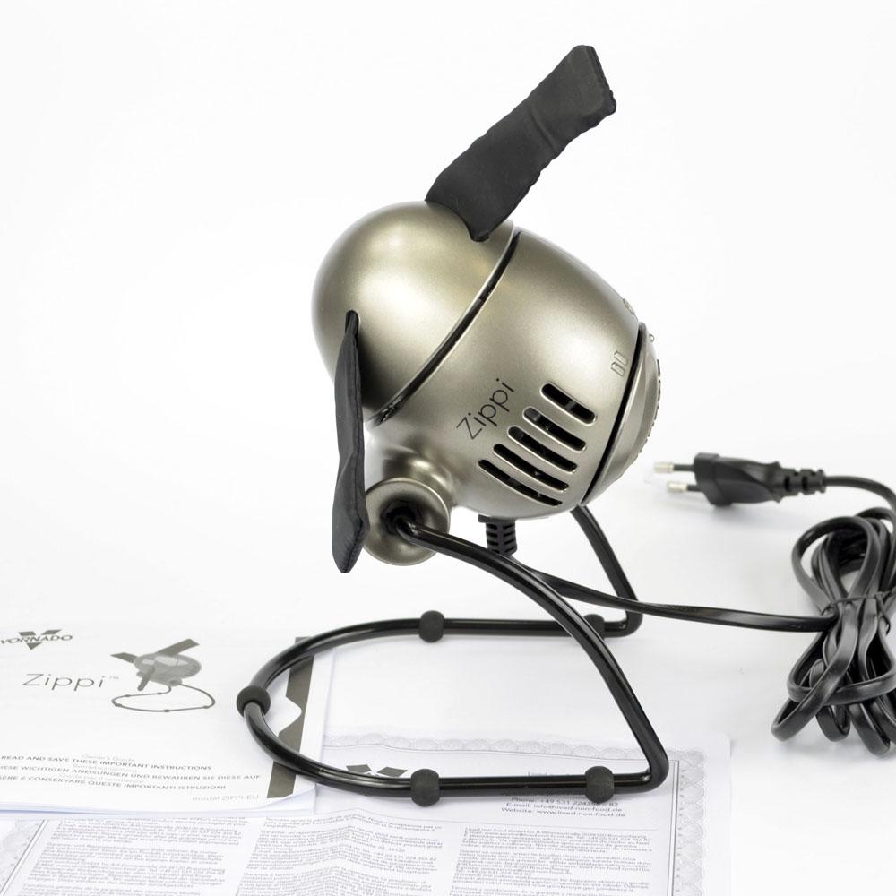 Zippi Ventilator silber modern smart klein